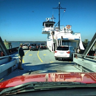 Ferry to Fort Fisher, a favorite of mine